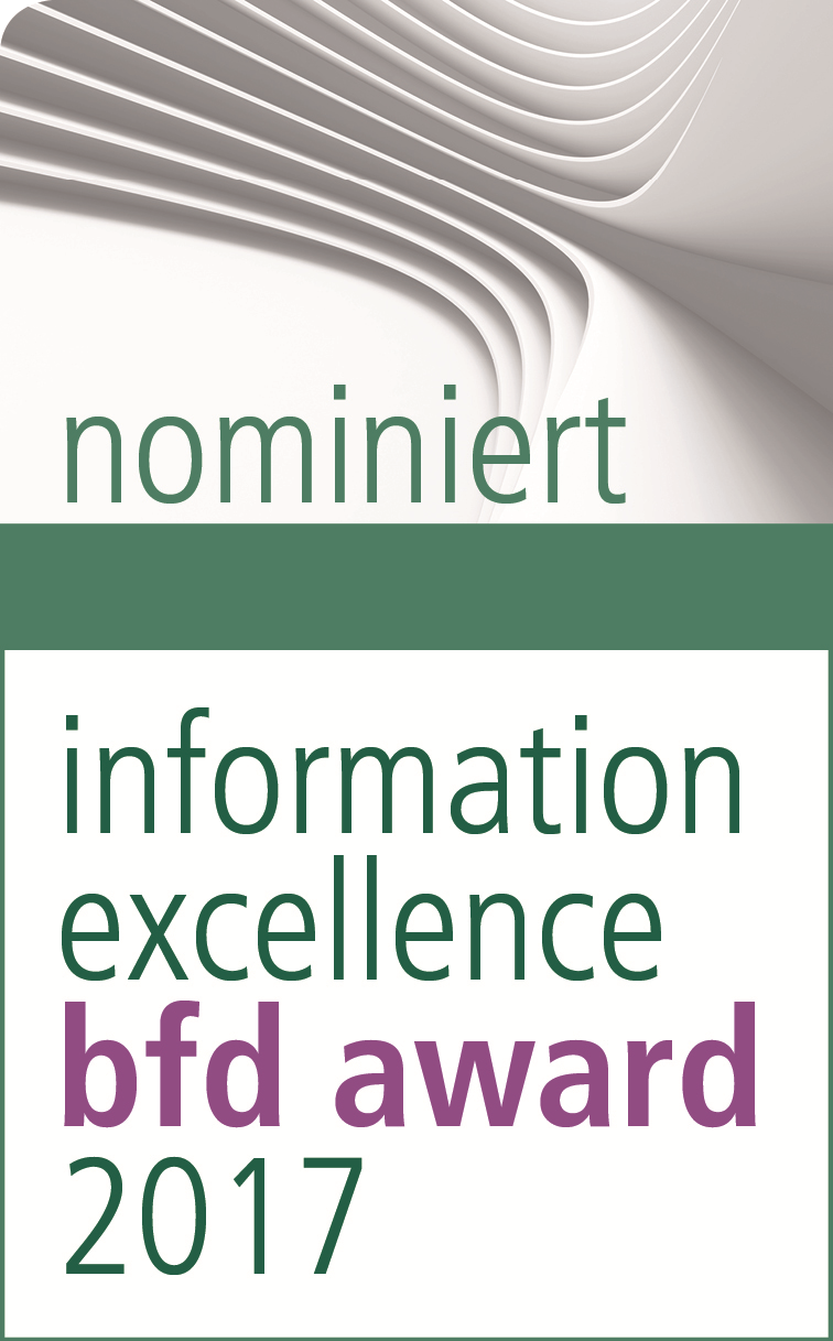 bfd Award - Nominierung